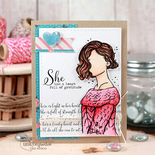 She Never Says Never {June 2017 Sentiment Kit}