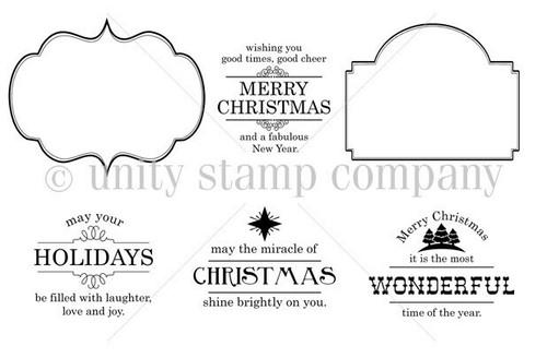 Everything Christmas {november 2013 sentiment kit}