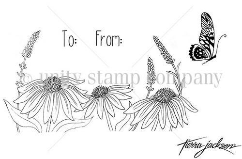 Efflorescence {Envelope Art}