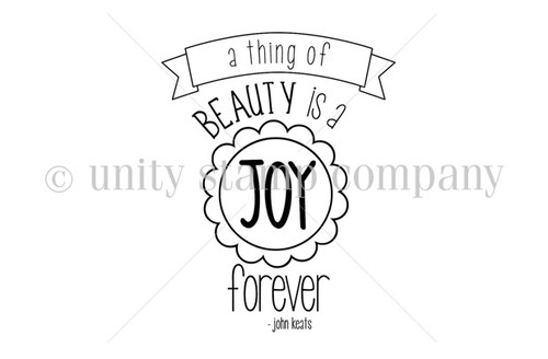 Beauty is a Joy