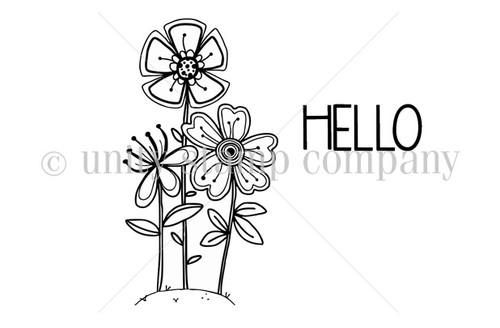A Floral Hello