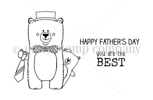 Beary Best Dad