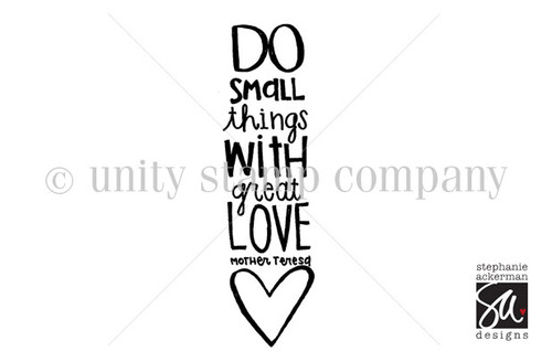 Small Things, Great Love