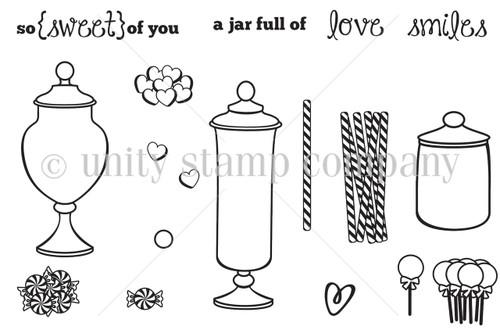 {jar full of} SWEETNESS