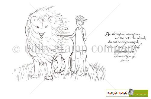 Strong & Courageous {boy}