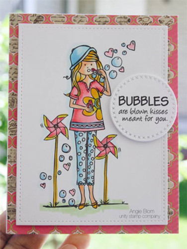 Bella Whimsy {blowing bubbles}