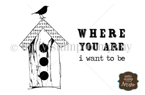 Where You Are {Itty Bitty}