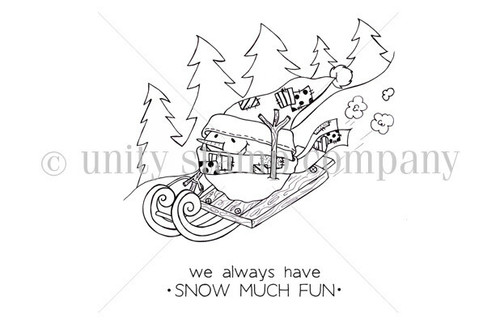 Snow much FUN {snowpeep Charlie}