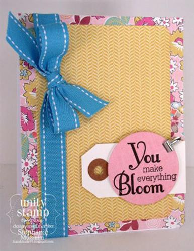 Blossom by Blossom {April 2013 sentiment kit}