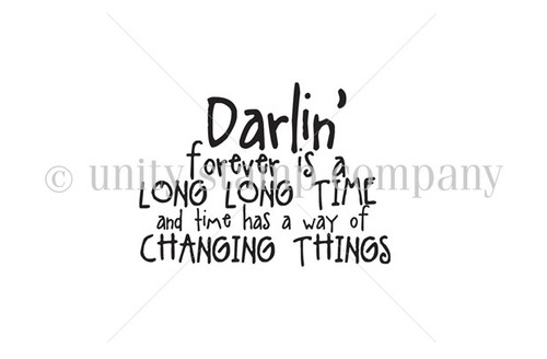 Darlin, Things Change