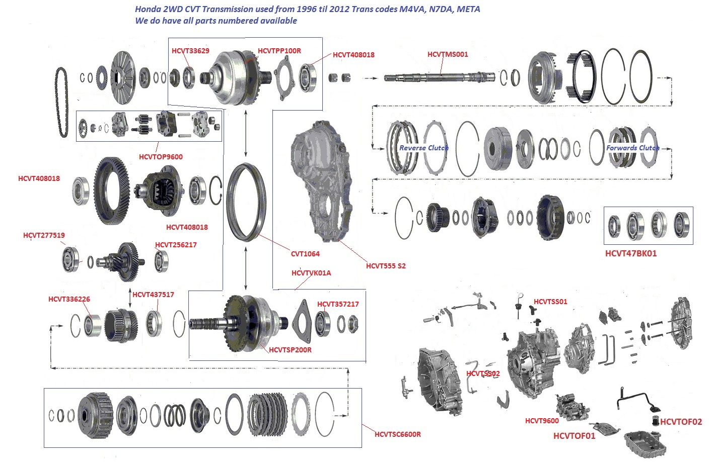 honda cvt m4va n7da cvt transmission cvt parts limited rh cvt parts co nz honda crv automatic transmission diagram honda automatic transmission diagram