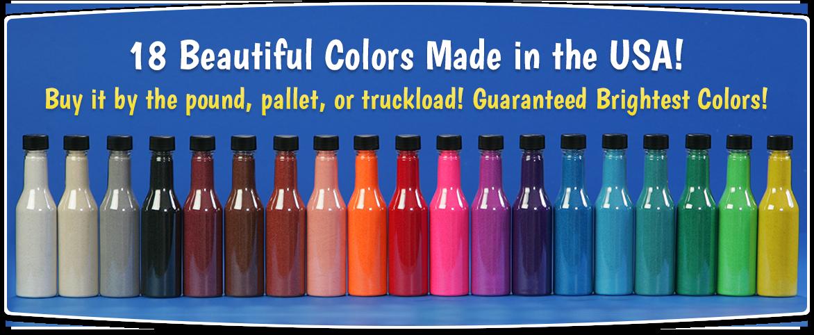 sand art colors