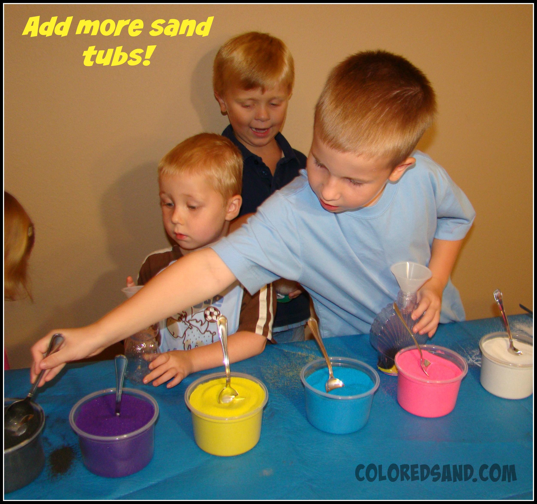 supplies for doing sand art