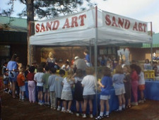 School Carnival Sand Art Booth