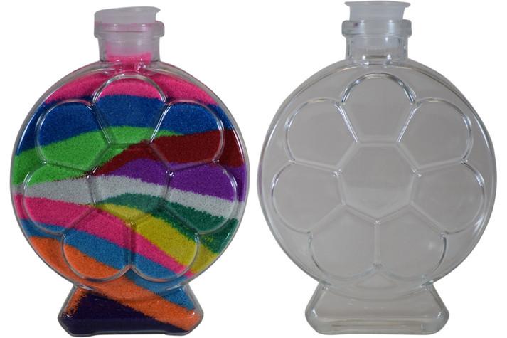 Round Flower Sand Art Bottle