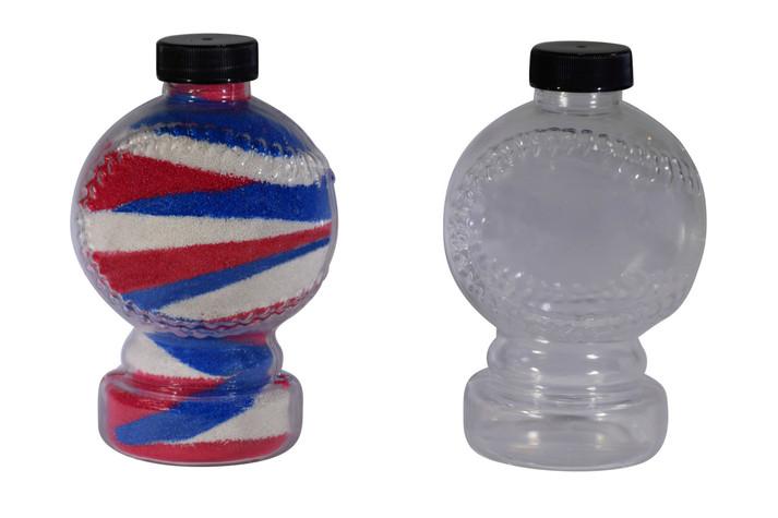 Baseball Sand Art Bottle Large
