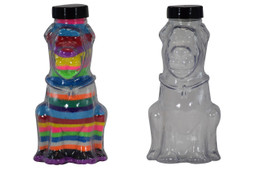 Sand Art Skooby Dog Plastic Bottle