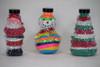 Christmas Sand Art Plastic Bottles