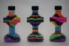 Plastic Sand Art Cross Bottles
