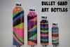 Sand Art Bullet Bottle Comparison