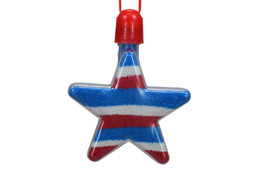 Sand Art Star Necklace