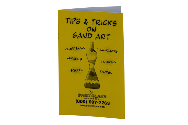 Sand Art Tips & Tricks Book