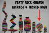 sand art bottle comparison chart