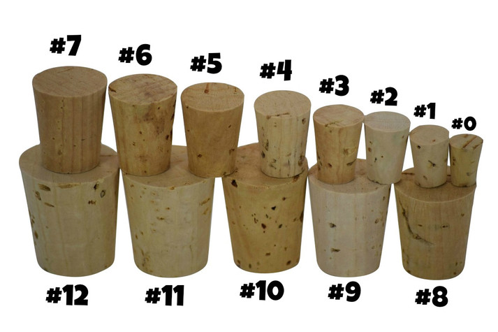 Small cork for sand art bottles