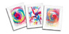 Spin Art Cards With Frames