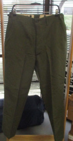 KOREAN ERA NEW M-1951 TROUSERS, FIELD, 100% WOOL-SIZE MED/REG- [W1003]