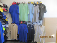 LOT #4 - 10 ASSORTED MEN'S SHIRTS WITH AUTOMOBILE MAKERS LOGO
