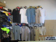 LOT #2-10 ASSORTED SHIRTS W/ AUTOMOBILE MFR. EMBROIDERED ON THE CHEST