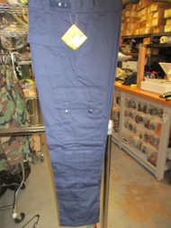 ROTHCO EMT & EMS Uniform Cargo Pants 9 Pocket -STYLE :7821 NAVY BLUE SIZE SM/REG