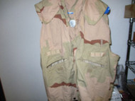 USGI Military PASGT Vest Flak Cover Desert 3-Color Camo-LARGE/XLARGE-PREOWNED
