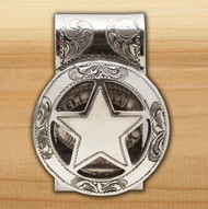 Cinco Peso Money clip 1/2 Engraved