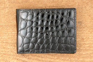Alligator Black Wallet