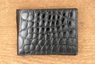 Alligator Black Wallet