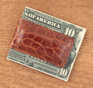 Peanut Alligator Magnetic money clip