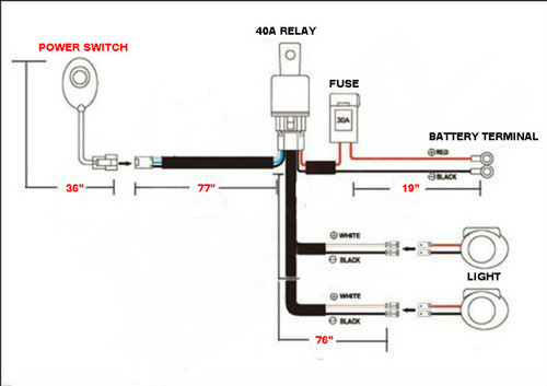 Double Led Wiring Harness : 25 Wiring Diagram Images