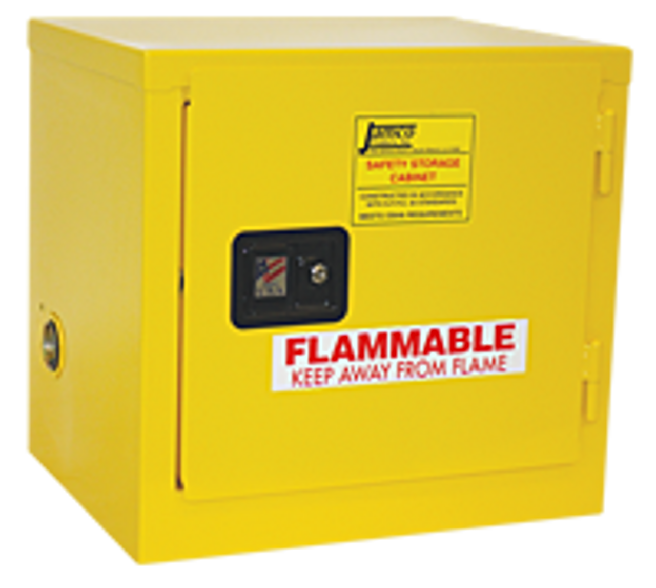Jamco Flammable Safety Cabinet   6 Gallons   Manual Close