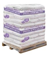 Pallet of Sodium Chloride Ice Melt Pellets (50 x 50 lbs Bags)