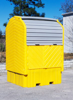 UltraTech IBC HardTop Containment System 1162 - No Drain