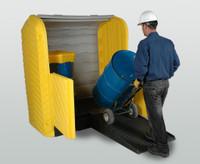 Ultra-HardTop P2 Plus Spill Containment Pallet - 2 Drum 9612 - No Drain