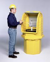 Ultra-Hard Top P1 Plus Drum Storage Spill Pallet - 9640 - No Drain