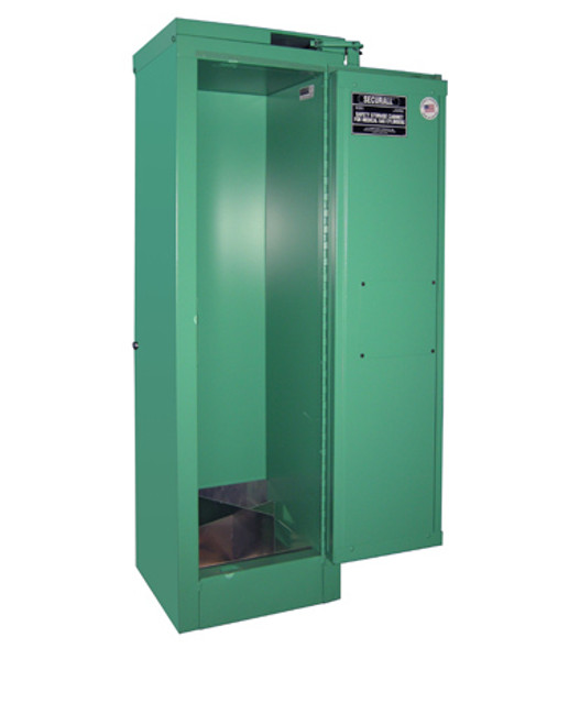Oxygen Cylinder Storage Cabinet - Fire Lined - 2-4 Cylinders