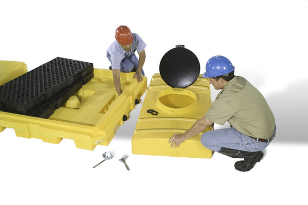 UltraTech Modular IBC Spill Pallets - 1124 Expansion Tank Only