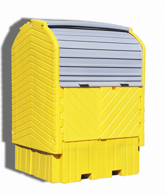 UltraTech IBC HardTop Containment System 1161 - with Drain