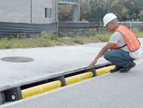 Ultra-Curb Guard Plus, 3' Section