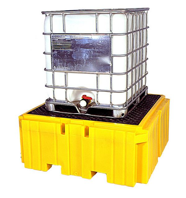 UltraTech IBC Spill Pallet Plus 1158 - With Drain