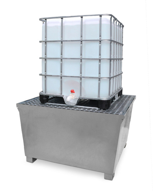 Ultra Tech Containment : Ultra ibc steel containment spill pallet